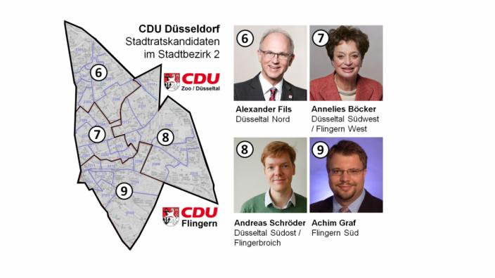 CDU stellt sich für Stadtratswahl 2020 auf